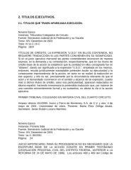 TITULOS QUE TRAEN APAREJADA EJECUCIÓN.rtf