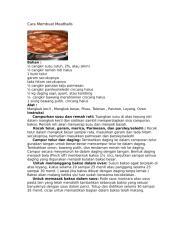 Cara Membuat Meatballs.doc