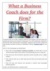What a Business Coach does for the Firm_.pdf