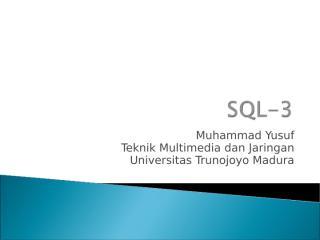 SQL3tmj.ppt