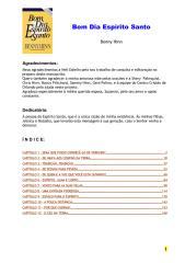 Bom dia Espírito Santo - Benny Hinn.pdf