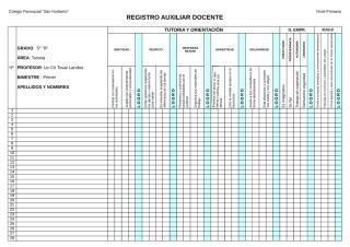 TUTORIA Registro de actitud.xls