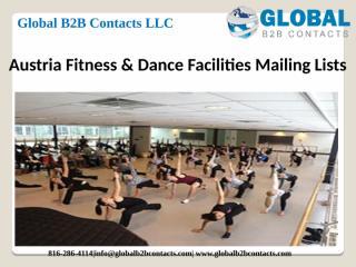 AustriaFitness & Dance Facilities Mailing Lists.pptx