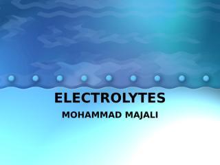 ELECTROLYTES.ppt