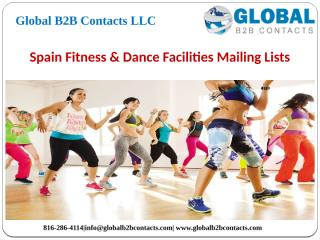 Spain Fitness & Dance Facilities Mailing Lists.pptx