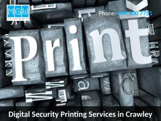 Digital Security Printing Services in Crawley.pptx